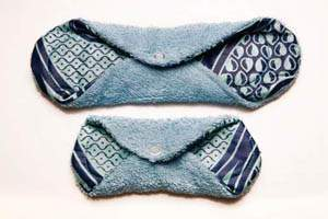 natural alternative to menstrual pads and tampons - reusable pads